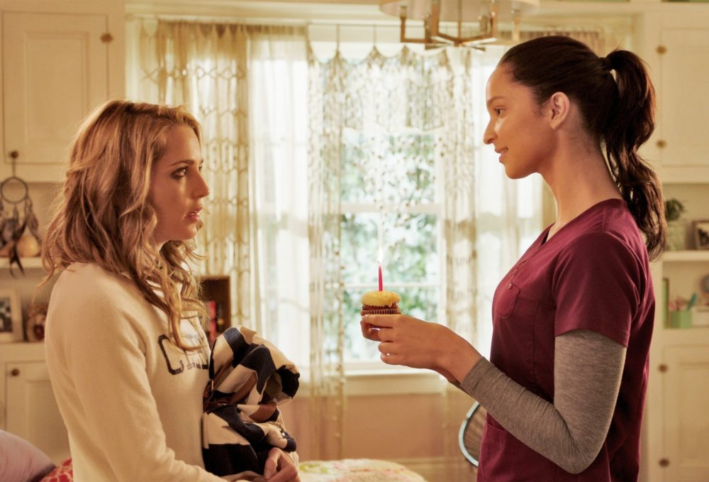 Ruby modine also returning in happy death day sequel bloody as we recently told you a sequel to last years groundhog day style slasher film happy death day is filming this year and its was recently confirmed that stopboris Image collections