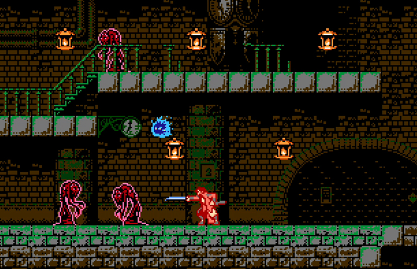 8-bit 'Bloodstained: Ritual of the Night' Prequel, 'Curse of the