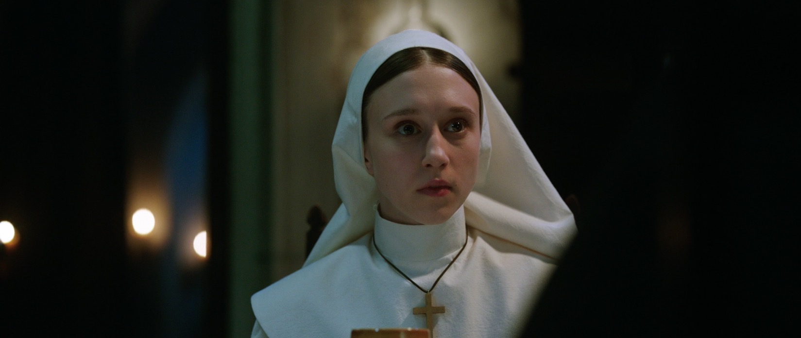 [Set Visit] 'The Nun' Star Taissa Farmiga On Entering 'The