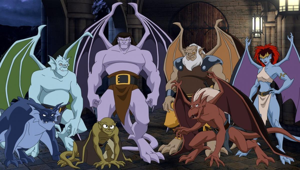 Image result for 90 tv cartoons gargoyles