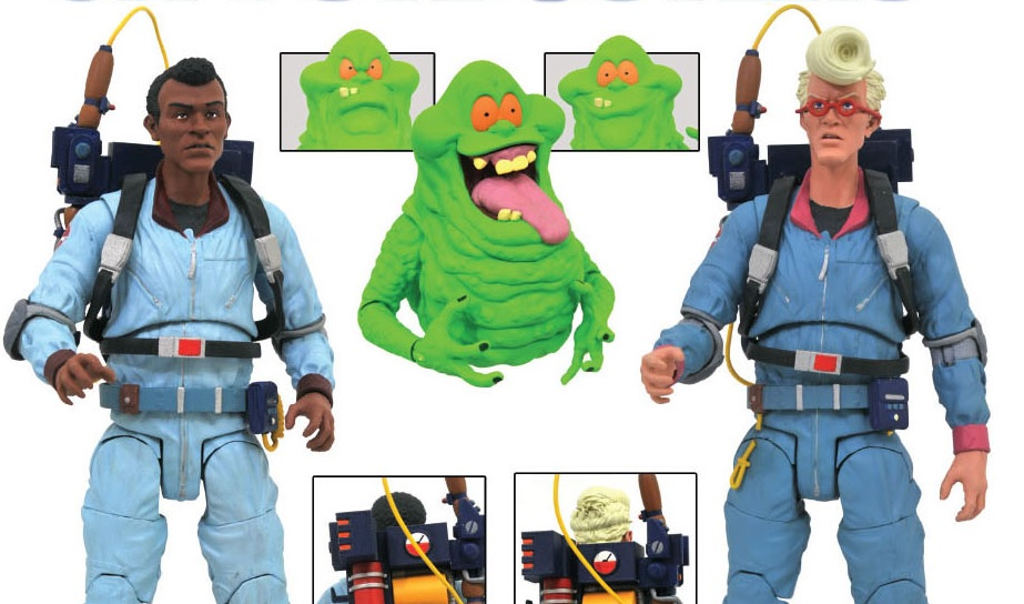 Diamond Select Brings The Real Ghostbusters Back To The Toy Shelf Bloody Disgusting