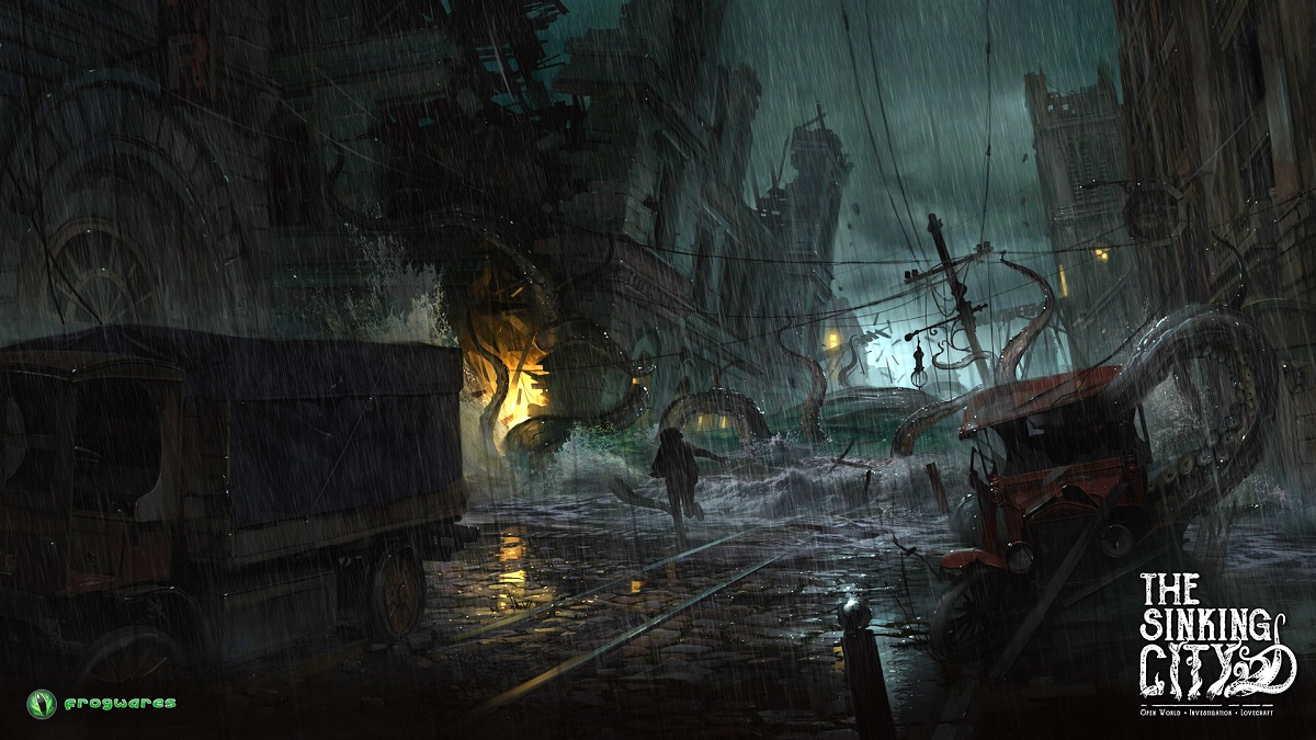 Lovecraftian Video Game 'The Sinking City' Gets a 2019