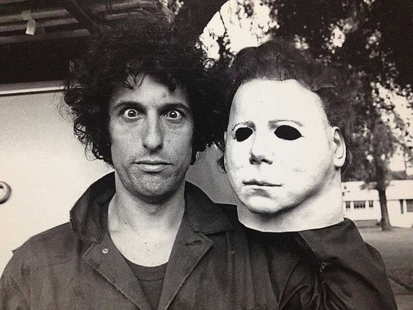 [Image] Nick Castle Recreates 1978 Behind the Scenes Photo On the Set of \u0027 Halloween\u0027 2018
