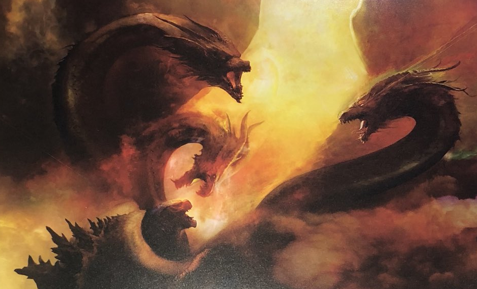 King Ghidorah Looms Large On Jaw Dropping Godzilla King Of The
