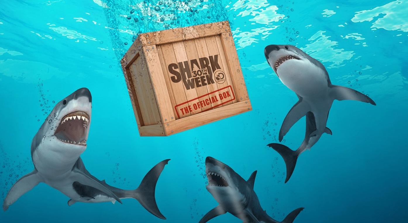 Shark Week 30th Anniversary Bobblehead