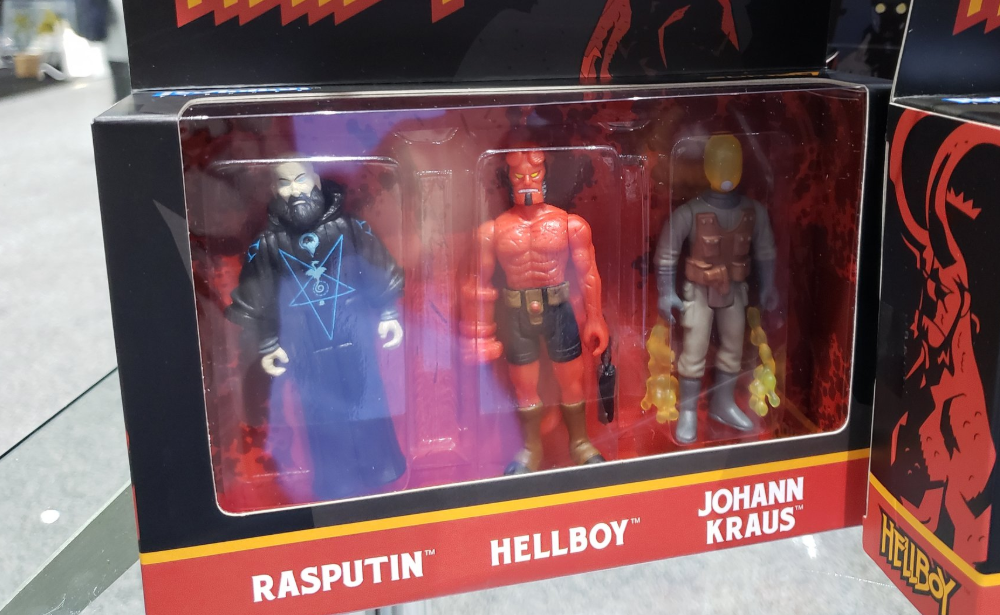 Super7 Previews A Whole New Wave Of Hellboy Reaction Figures Sdcc