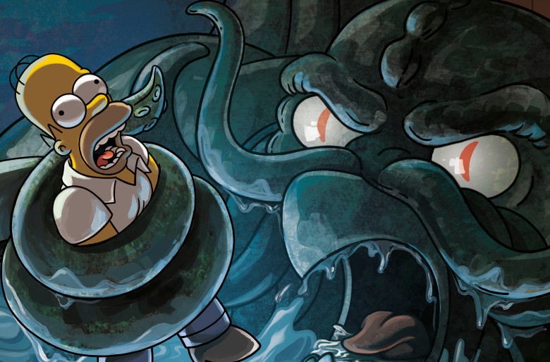 Halloween Simpsons Treehouse Of Horror.We Ve Already Got Poster Art For The Simpsons Treehouse Of Horror