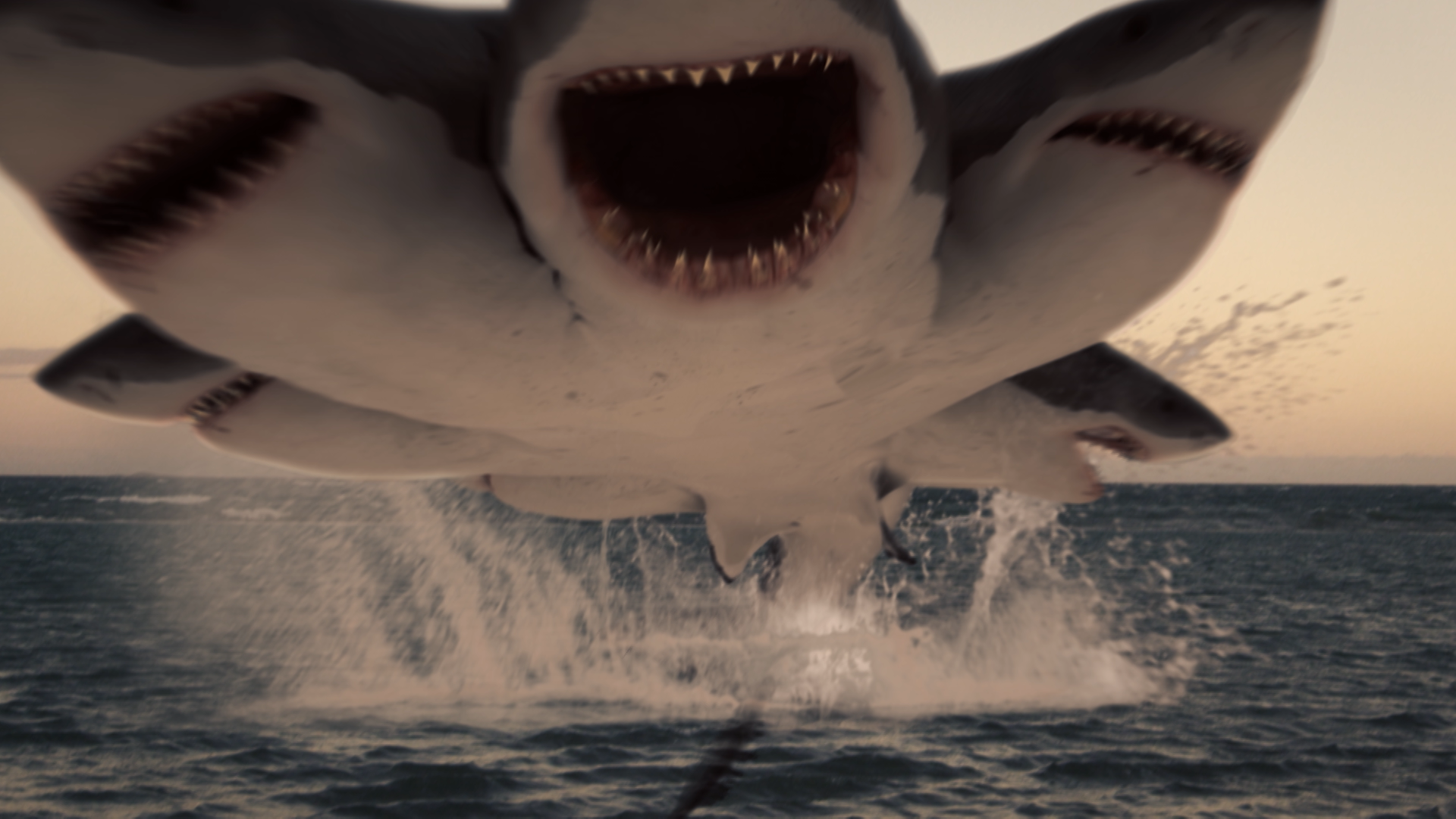 Exclusive Image Gallery Previews The Wacky 6 Headed Shark Coming To Syfy This Weekend