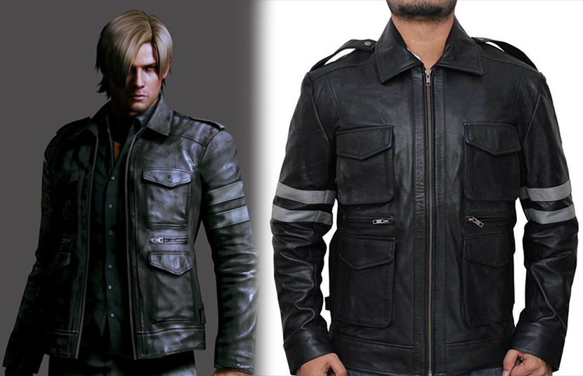 Own This Replica Resident Evil 6 Leon Kennedy Jacket And More