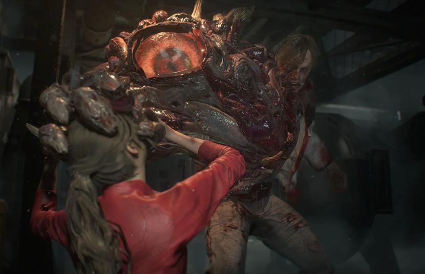 Gamescom 2018 Claire Redfield Faces William Birkin In New