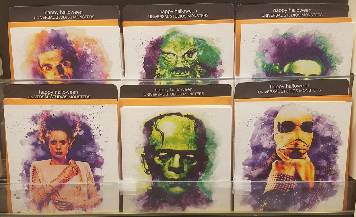 Target Has A Gorgeous Set Of Universal Monsters Halloween Greeting