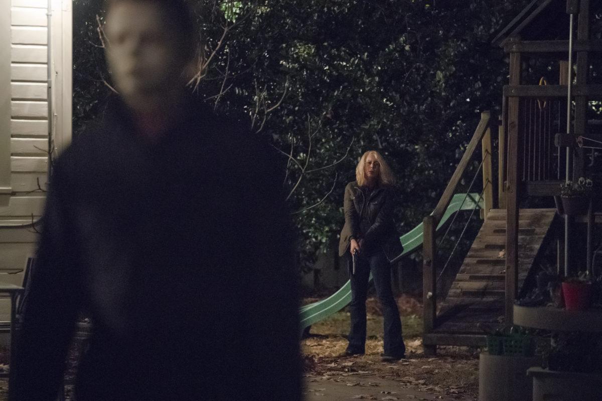 Halloween 2018 Alternate Ending.Early Draft Of Halloween Script Changed Laurie Strode S Fate