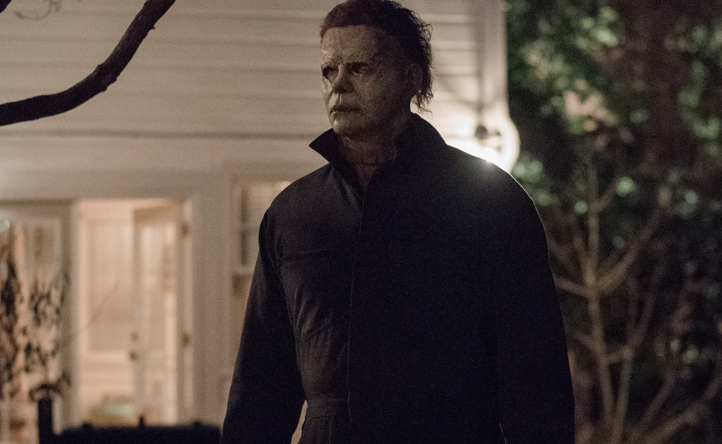 Halloween 2020 Michael Laying Halloween' Director Defends That One Moment That Humanizes Michael