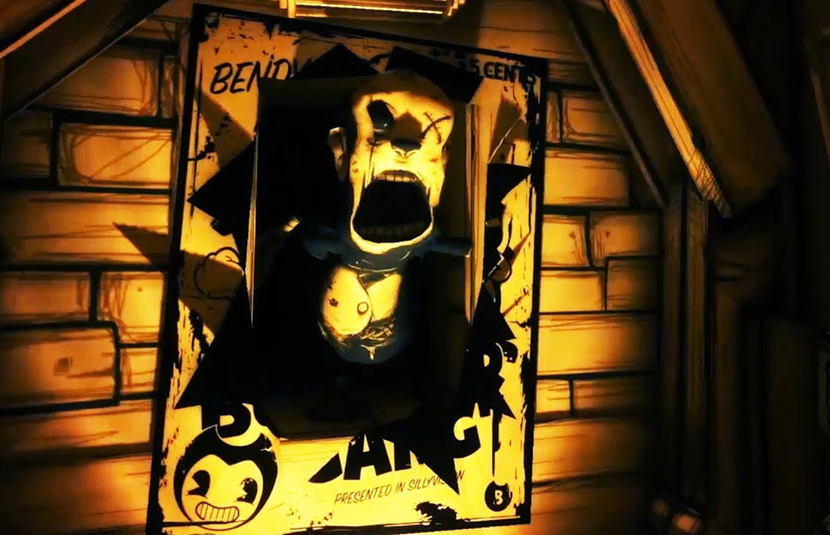 cartoon survival horror bendy and the ink machine arrives for