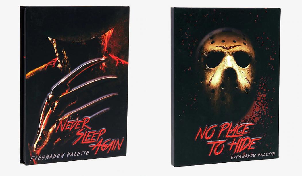 Hot Topic Is Selling Freddy Krueger And Jason Voorhees Eyeshadow