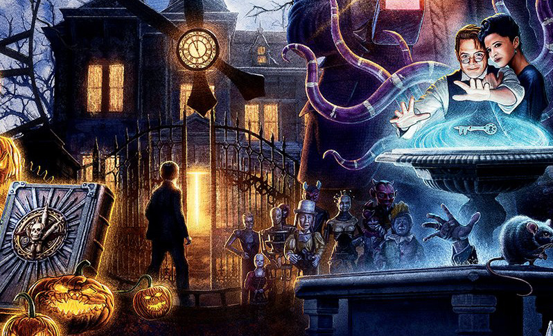 House With A Clock In Its Walls Imax Poster Channels Old School Amblin Bloody Disgusting