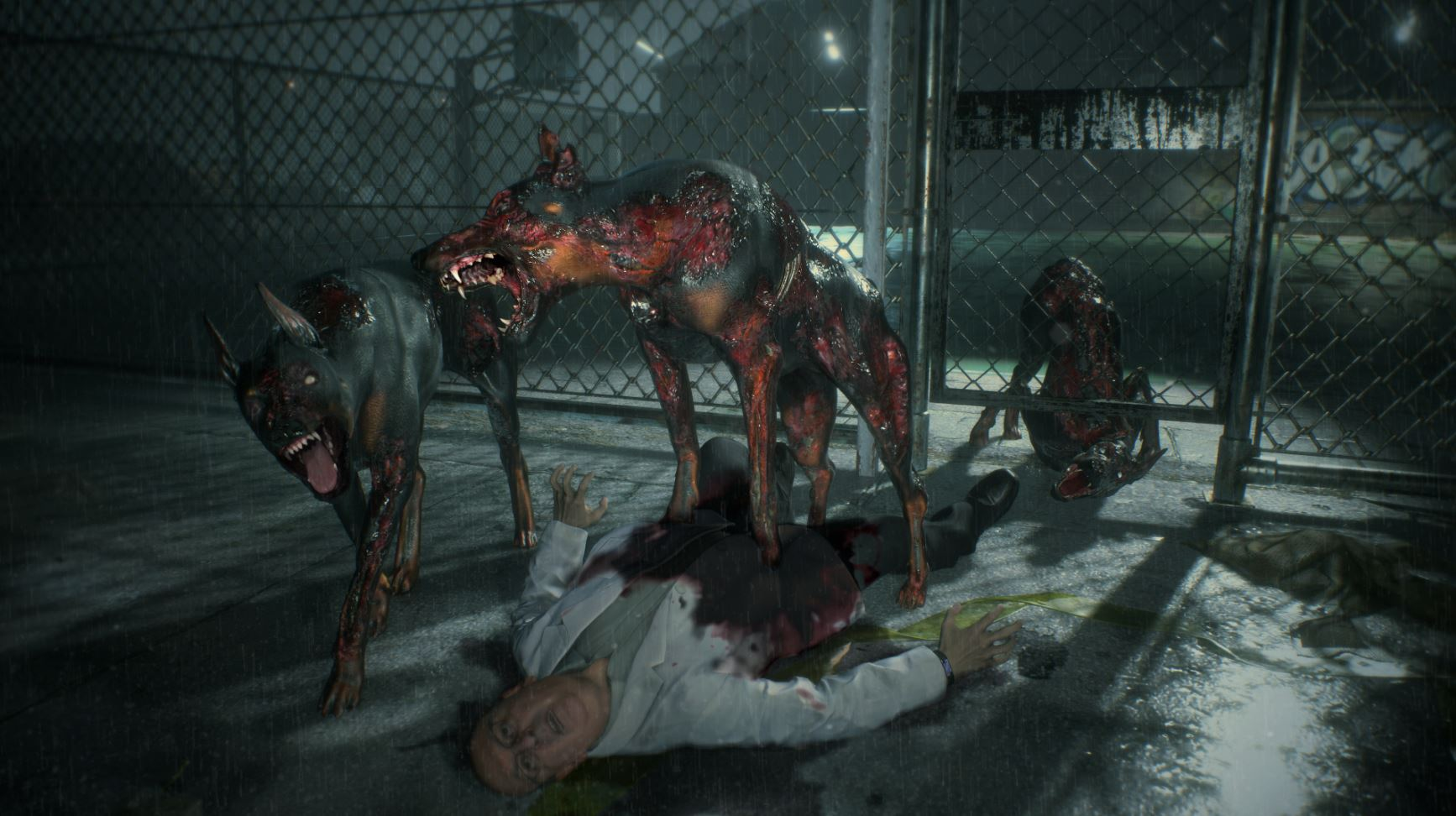 Image result for resident evil 2 remake dog