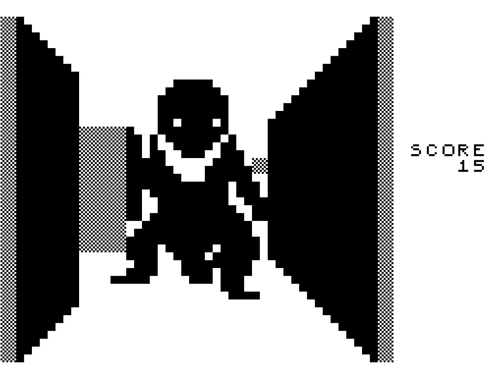 video games day 3D Monster Maze