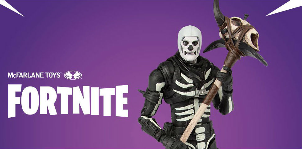 McFarlane Toys Reveals Its 'Fortnite' Action Figure Range