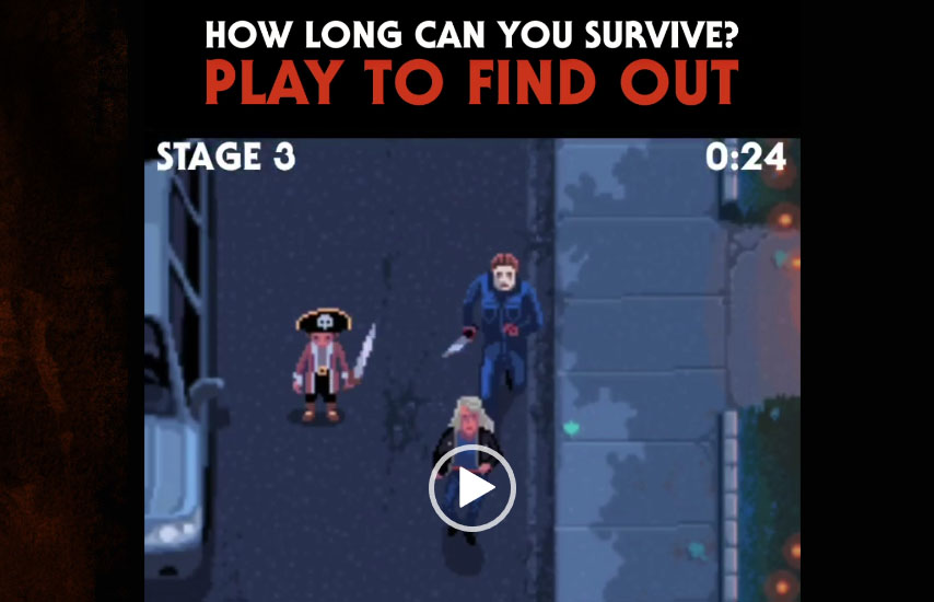 Escape Michael Myers In This Retro Style Halloween Video Game Bloody Disgusting