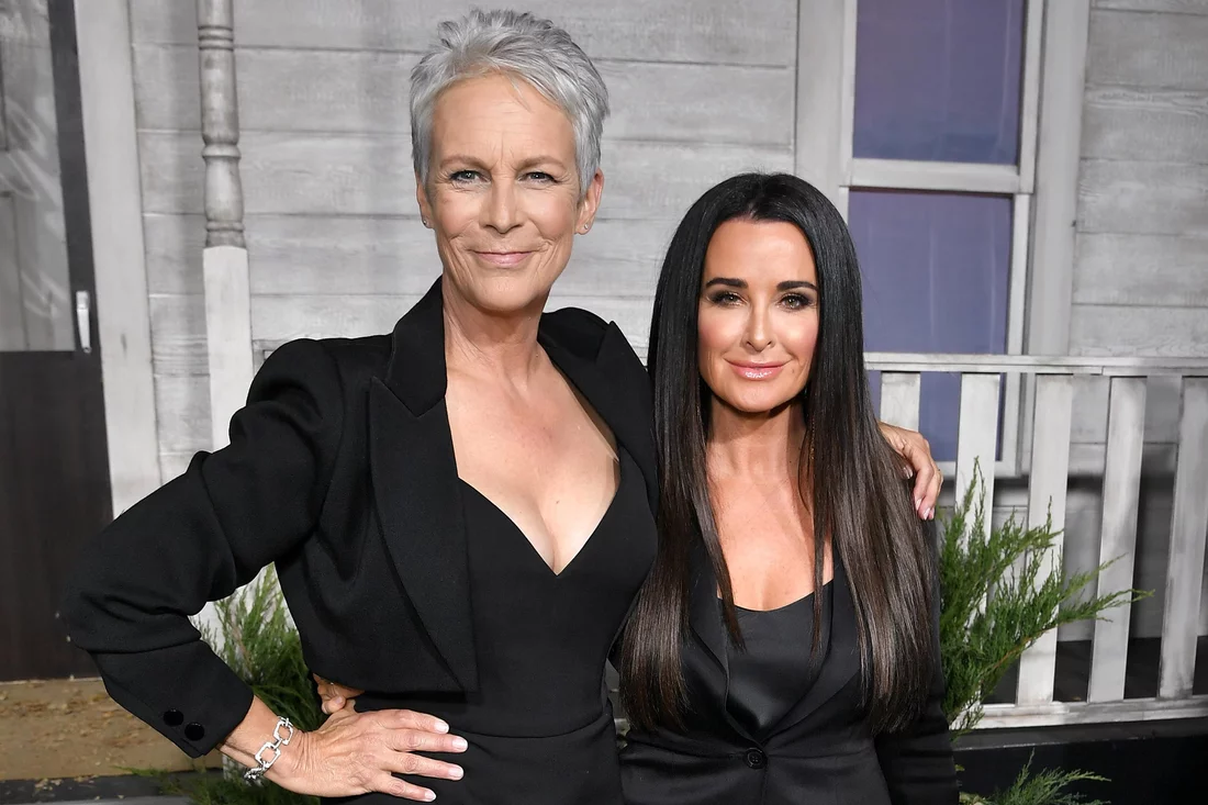 Jamie Lee Curtis Halloween 2020 Then And Now Jamie Lee Curtis Raves About Kyle Richards' Performance in