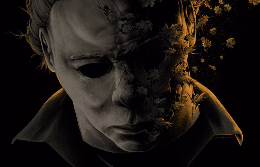 Halloween Poster Art.The Official Poster For Halloween 40 Years Of Terror