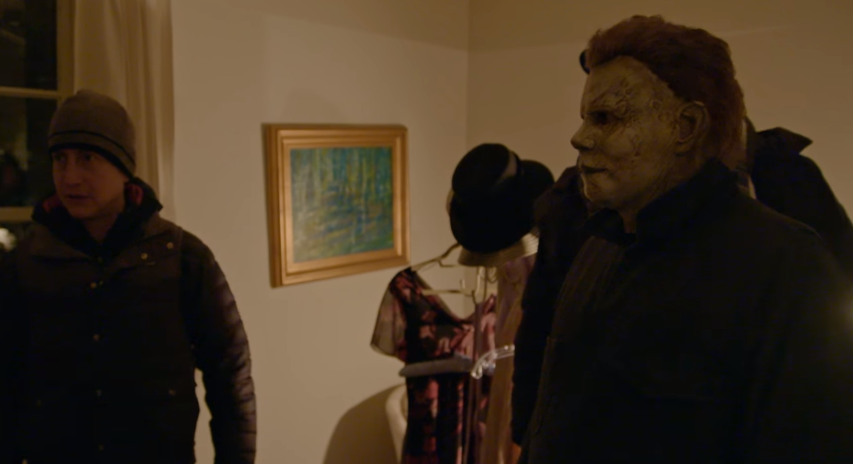 Video] New 'Halloween' Featurette Shows Nick Castle On Set, Back in