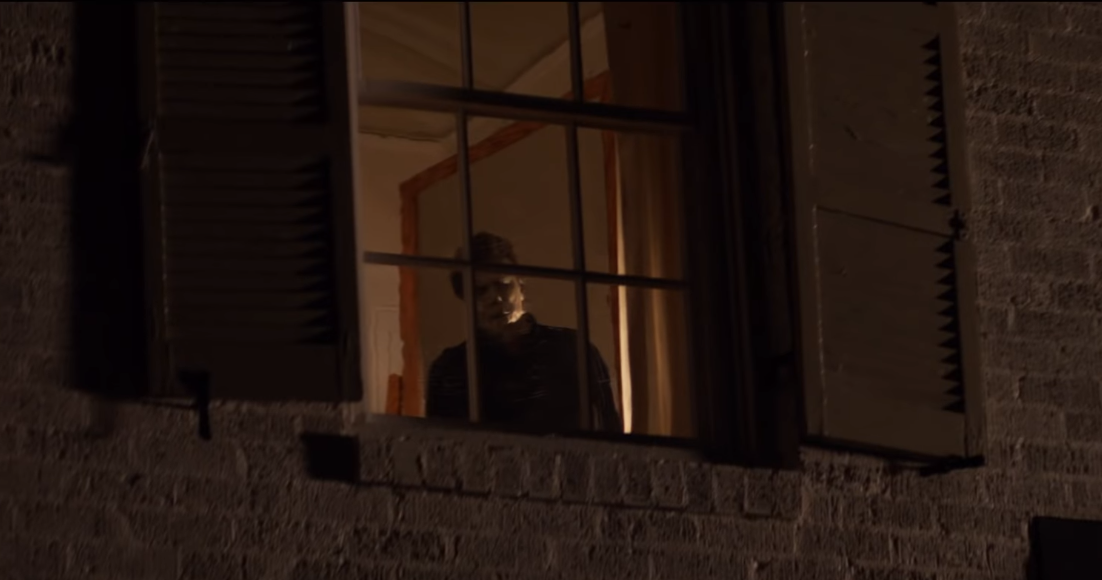 Image result for Halloween 2018, michael myers in window