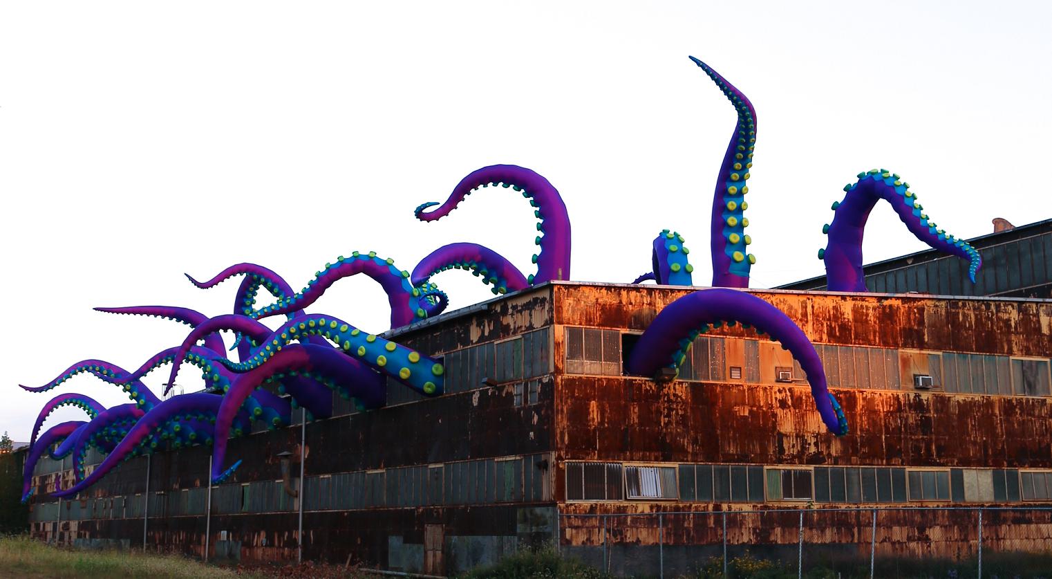 Giant Sea Monsters Art
