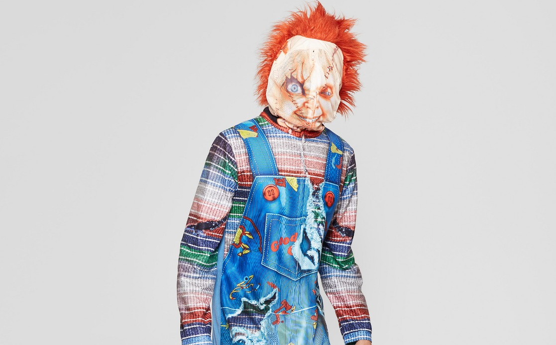 44fba9e7a Target is Selling an Amazing Adult Sized 'Child's Play' Onesie That Turns  You into a Good Guy Doll