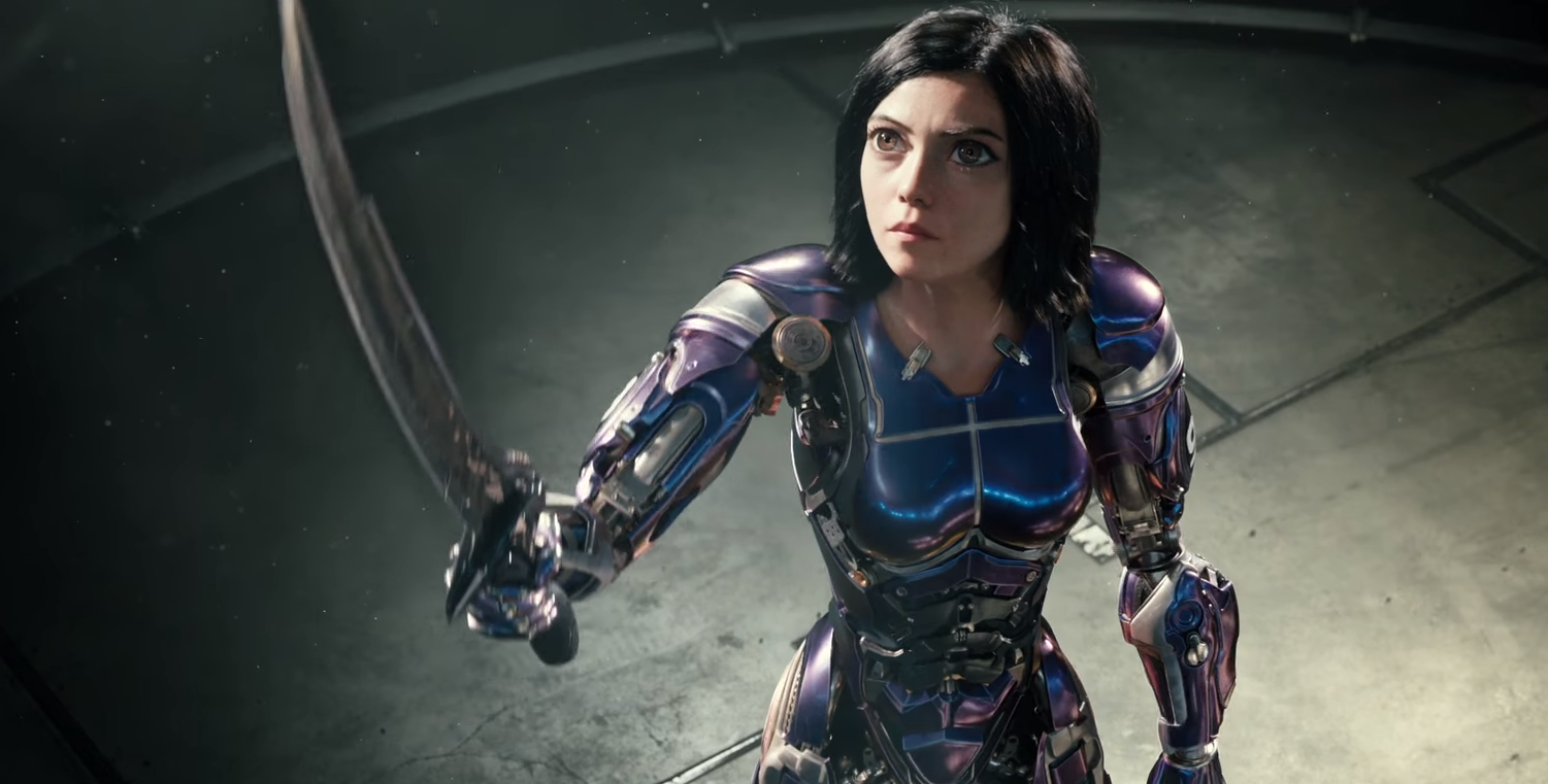 New Trailer For Robert Rodriguezs Alita Battle Angel Is Easily The Best Of Three -4883