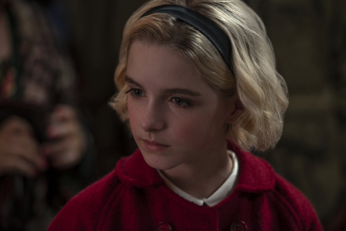 First Look At Mckenna Grace As Young Sabrina In -7669