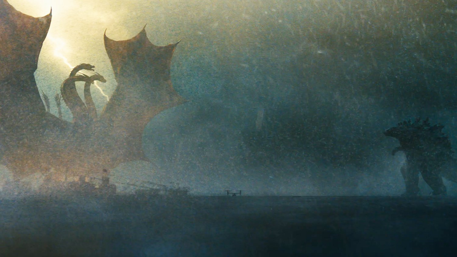 Godzilla And King Ghidorah Prepare For Battle On New Japanese