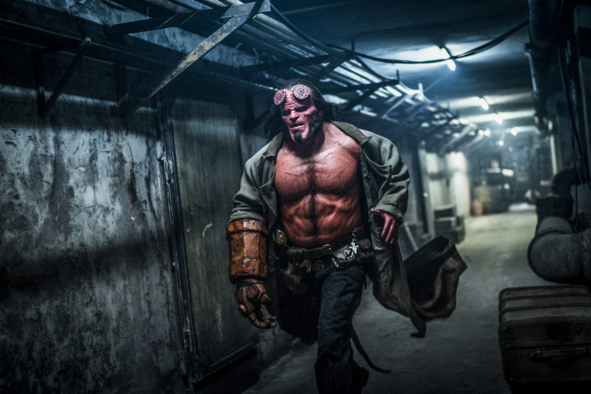 What We Learned on the Set of Neil Marshall's Practical Effects-Driven, Horror Take on 'Hellboy' - Bloody Disgusting