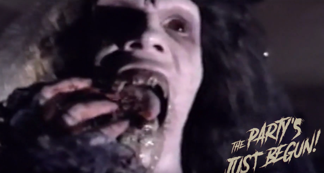 [Video] Alternate, Bloodier Scene from 'Night of the Demons 2' Unearthed by Documentary Team - Bloody Disgusting