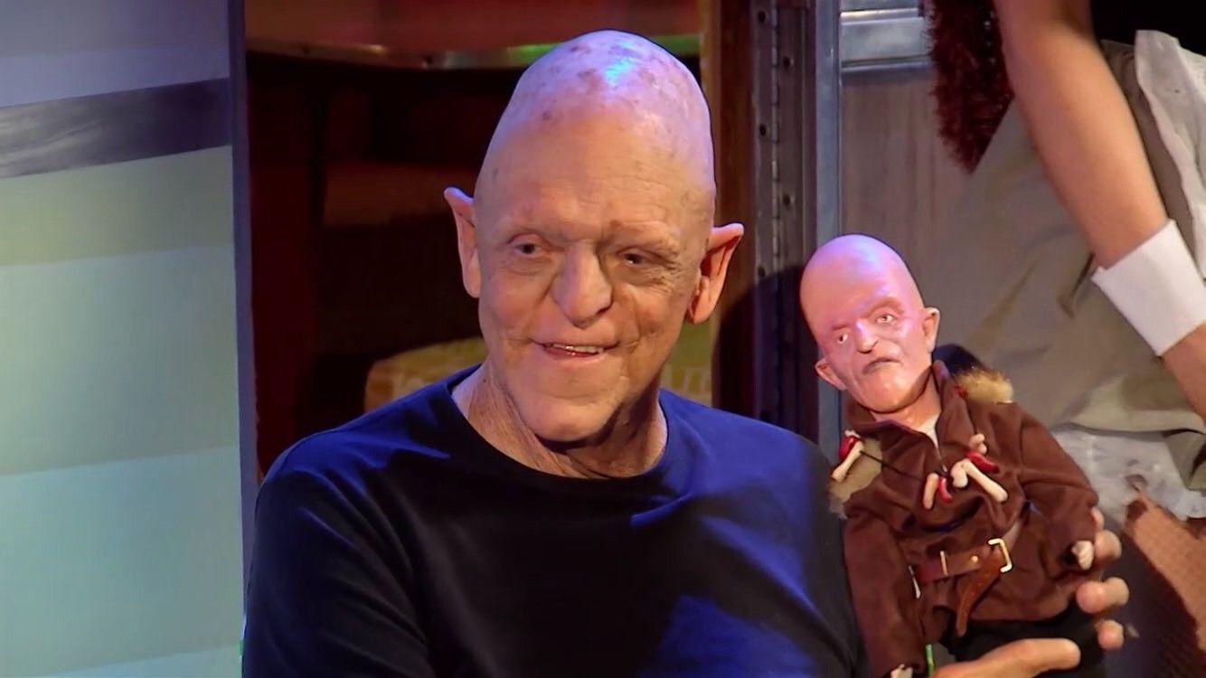 As Promised, Signed Michael Berryman Doll from Joe Bob ...