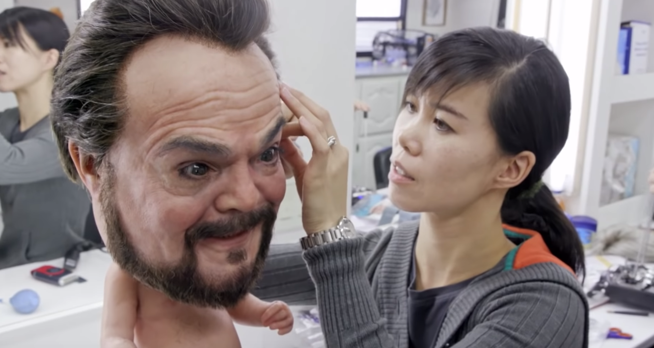 Behind the Scenes Video of Animatronic Jack Black Baby from