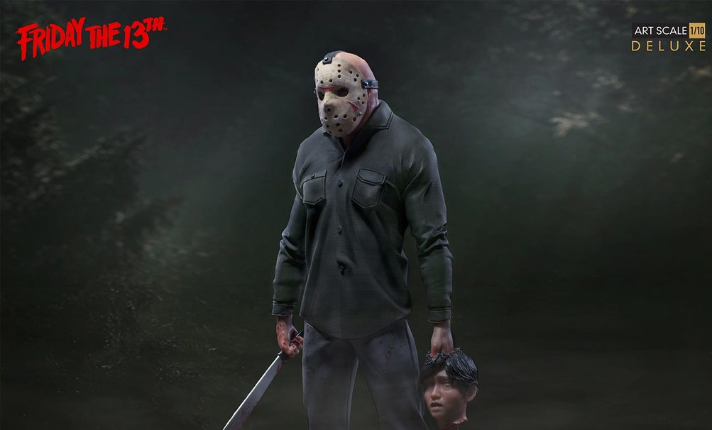 Deluxe Friday The 13th Part Iii Jason Voorhees Statue