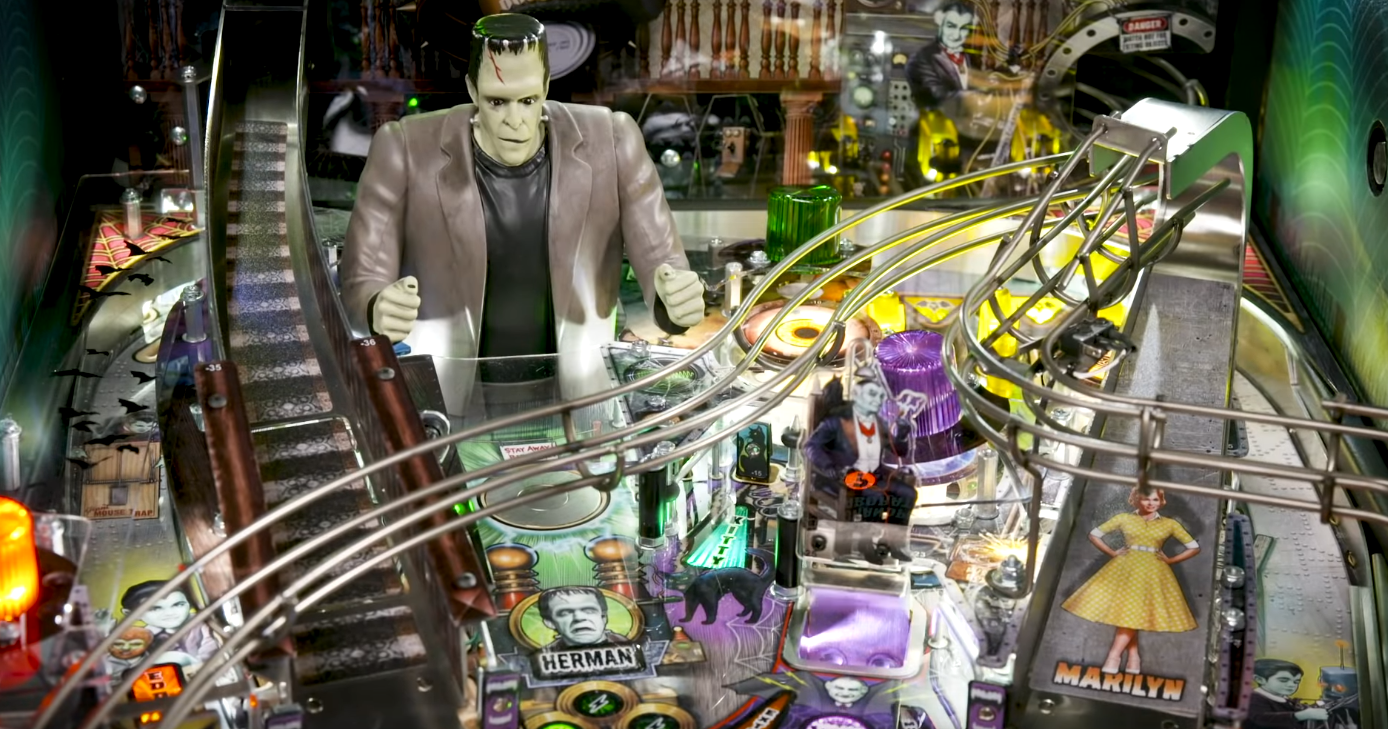 Stern Pinball Just Unveiled A Brand New U0026quot Munsters U0026quot Pinball