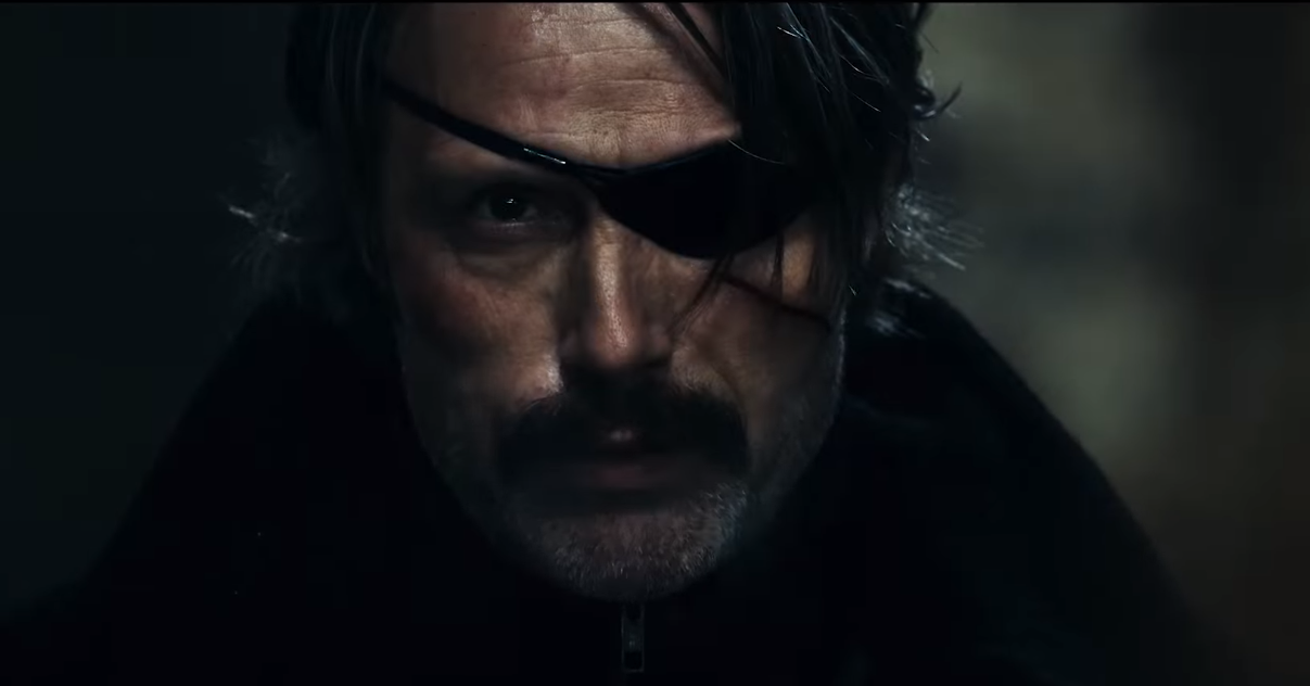 Movie Poster 2019: [Trailer] Mads Mikkelsen Goes Full 'Metal Gear Solid' In