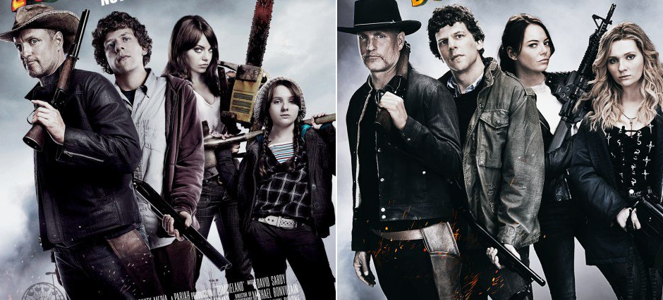 Zombieland 2 Poster Takes The 10 Years Later Challenge And Seems To
