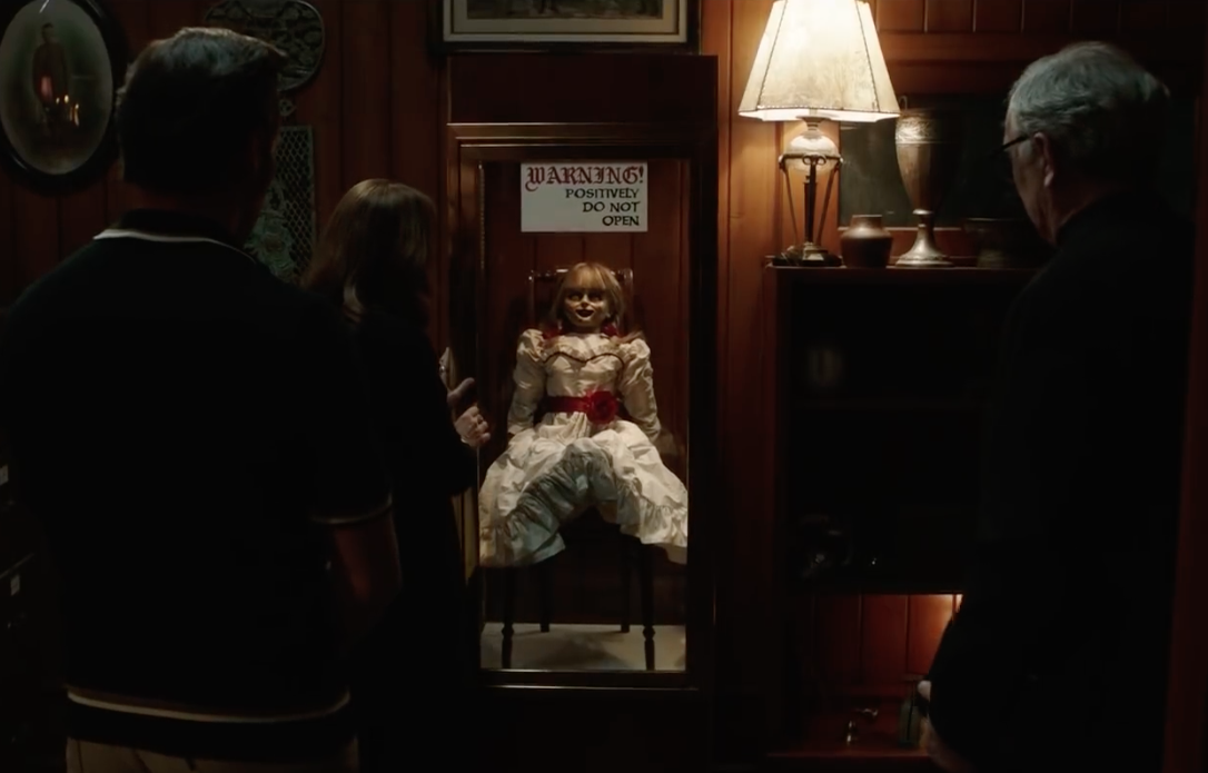 Annabelle Comes Home' Trailer Returns to the Warren Family's