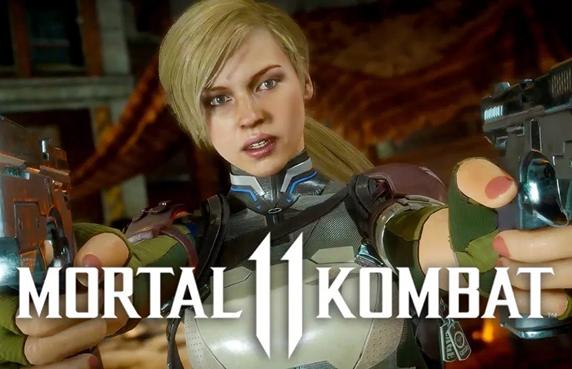 Cassie Cage Returns in New 'Mortal Kombat' Reveal Trailer - Bloody