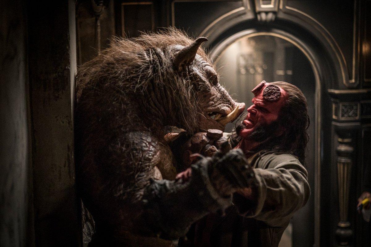 Resultado de imagen de hellboy 2019 monsters