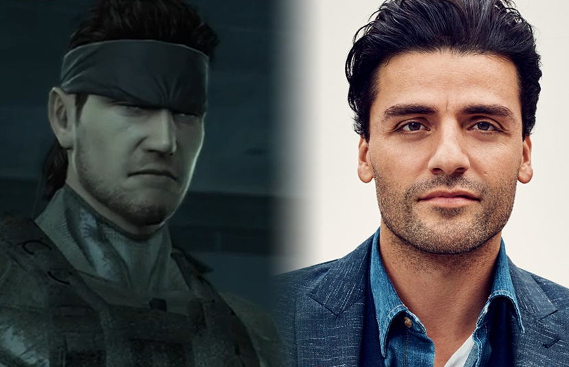 Oscar Isaac Wants to be Solid Snake For Vogt-Roberts' 'Metal Gear Solid'  Film - Bloody Disgusting