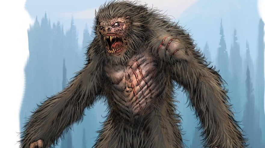 Check Out Killer Concept Art for the Massive Practical Bigfoot Creature from Eric Red's 'No Man's Ridge' - Bloody Disgusting