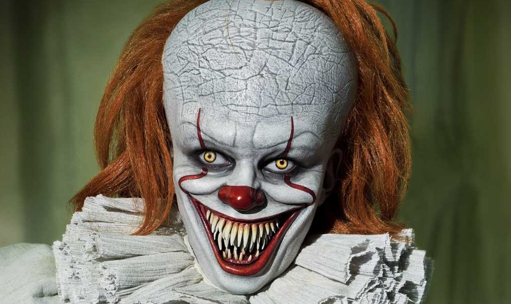The Three Terrifying Faces Of Pennywise Prime 1 Studio Unveils It 2017 Bust Collection Bloody Disgusting