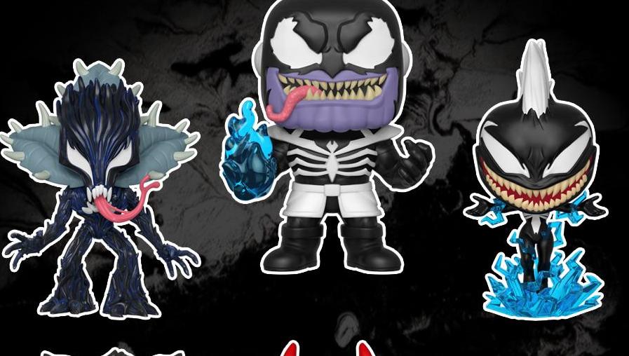 Venom Marvel Thanos Funko POP