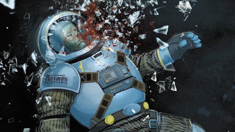 "Gunpowder & Sky's DUST Adapting ""Murder Mystery in Space"" Comic 'Hadrian's Wall' for the Big Screen"