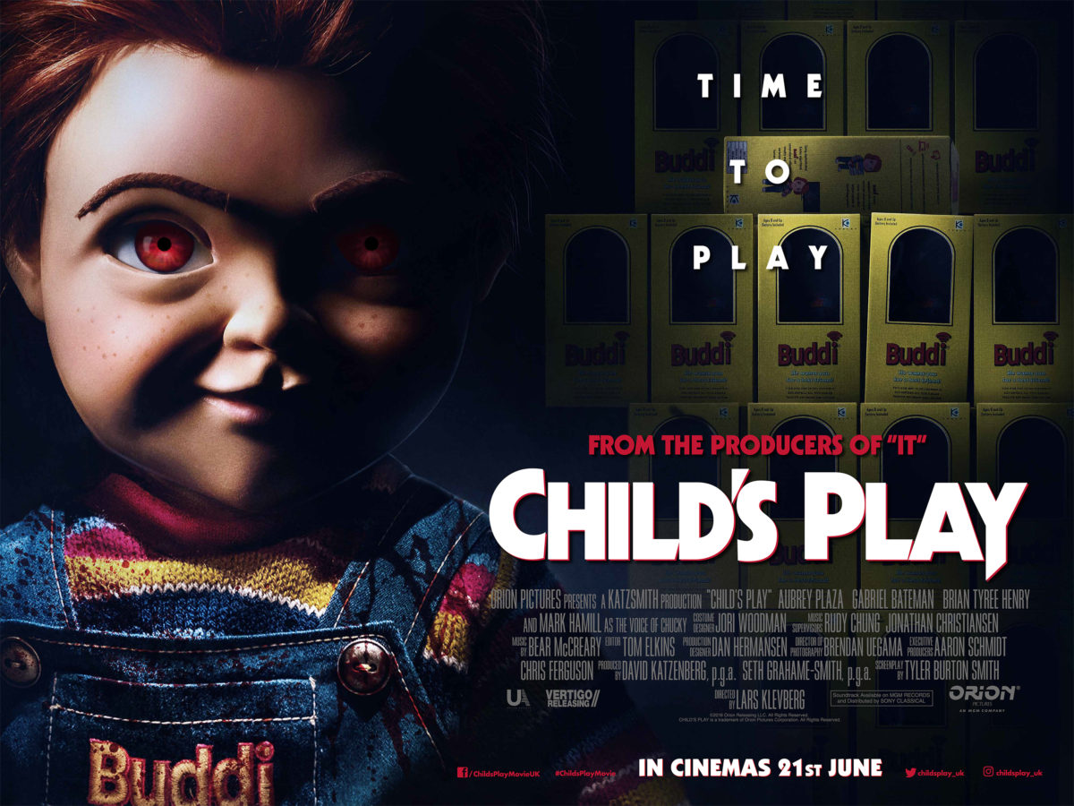 Movie Poster 2019: Chucky Finds Time To Play At #MCMComicCon London!